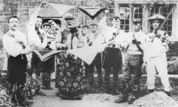 Ilmington Morris Men in 1907