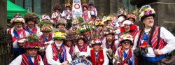 The Saddleworth Morris Men - Rushcart 2017